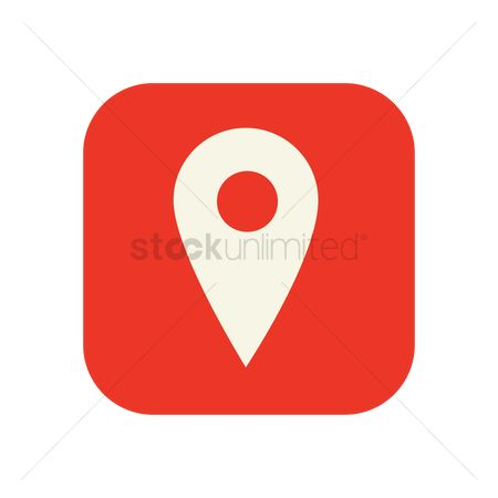 Map pin : Location pin icon