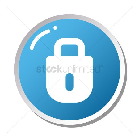 Password : Lock icon