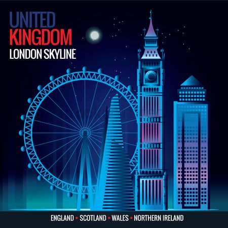 Wheel : London skyline