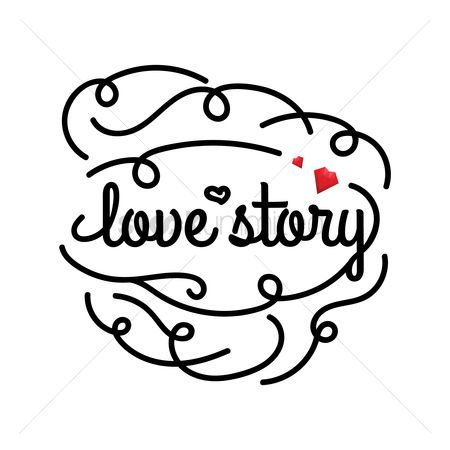 Stories : Love greeting card