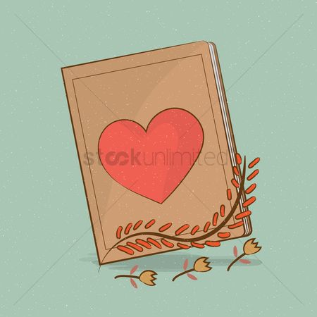 Heart : Love story book