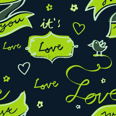 Background : Love wallpaper