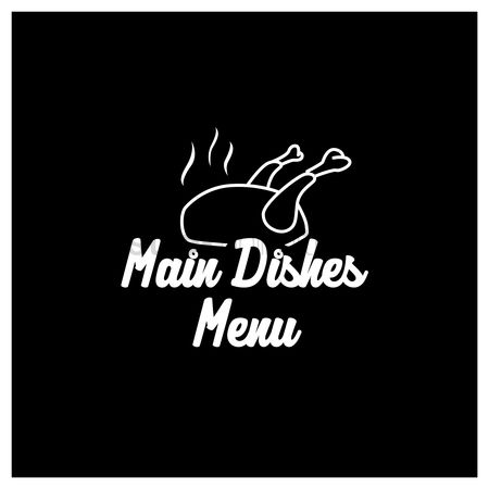 Main : Main dishes menu design
