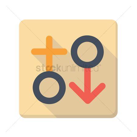 Free Male Female Symbols Stock Vectors Stockunlimited