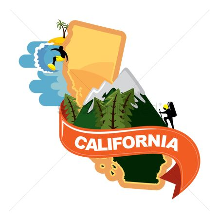 Places : Map of california