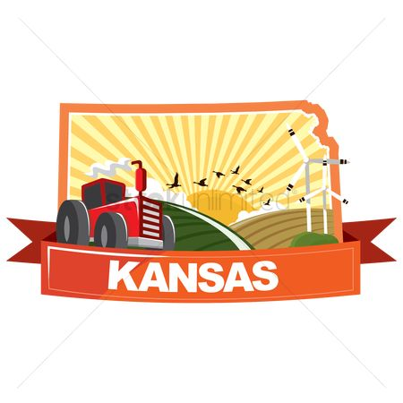 Kansas : Map of kansas