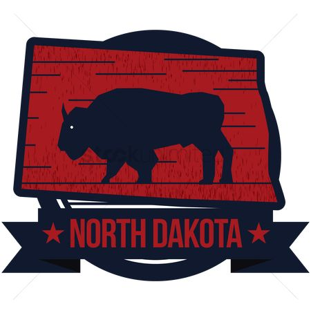 Dakota : Map of north dakota state