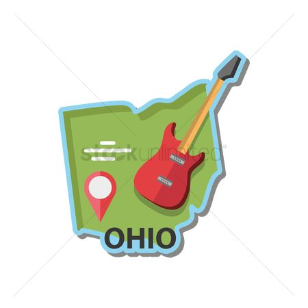Navigators : Map of ohio state