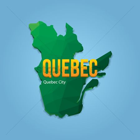Cartography : Map of quebec city