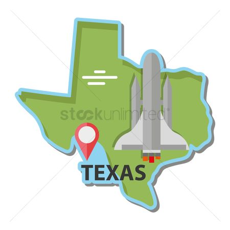 Navigators : Map of texas state