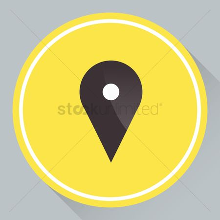 Map pin : Map pointer