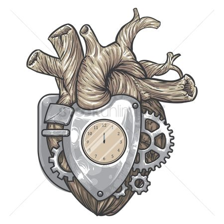 Heart shape : Mechanical heart
