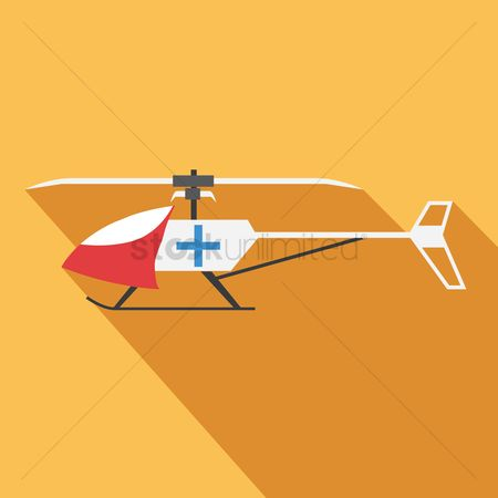 Helicopter : Medical helicopter