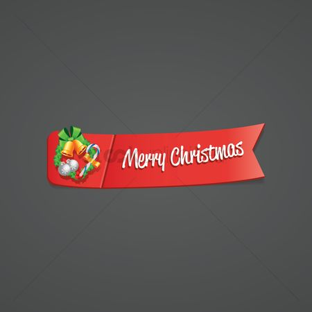 Jingle bells : Merry christmas banner