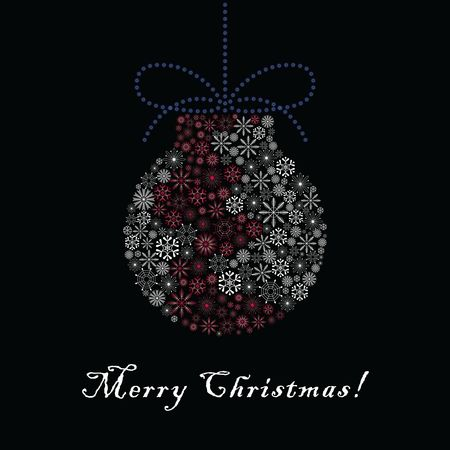 Bauble : Merry christmas design