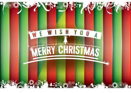 Free christmas lines stock vectors stockunlimited 1808121 christmas lines merry christmas greeting m4hsunfo