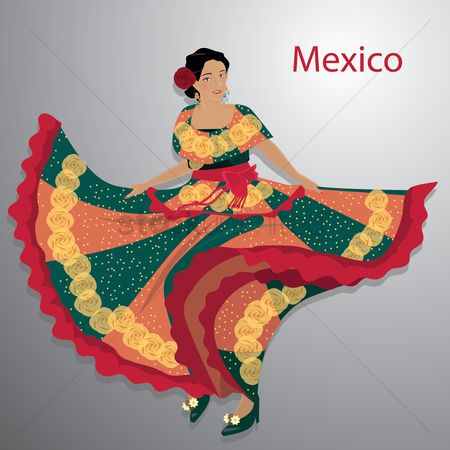 Mexicans : Mexican woman