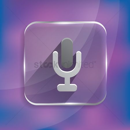 Clears : Microphone recording icon