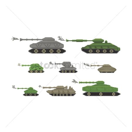 Combats : Military tank collection