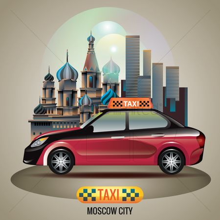 Touring : Moscow city taxi