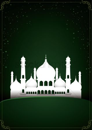 Arch : Mosque poster design