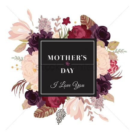 Greetings : Mother s day design