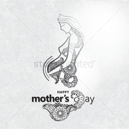 Ornament : Mothers day design