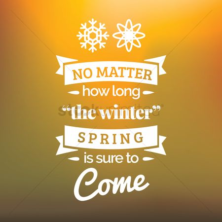 Spring : Motivational quote
