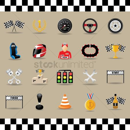 Medal : Motor racing collection