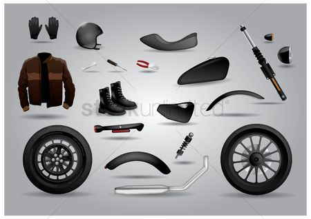 Tyre : Motorbike accessories collection
