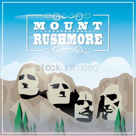 Dakota : Mount rushmore wallpaper
