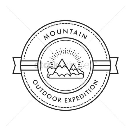 Hiking : Mountain outdoor expedition