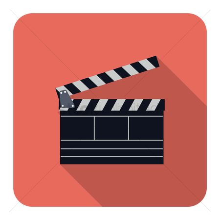 Production : Movie production clapper