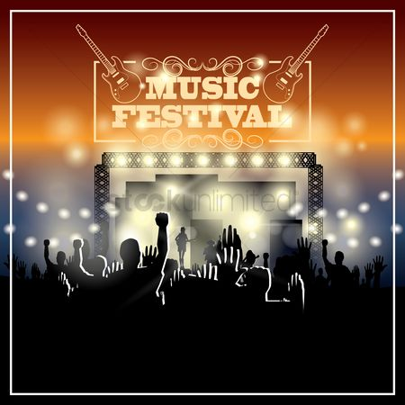 Musicals : Music festival wallpaper