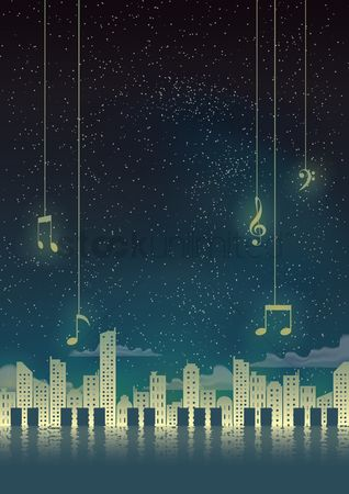 Musicals : Music poster design