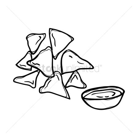 Free Nachos Stock Vectors