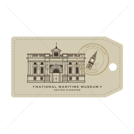 Museums : National maritime museum tag