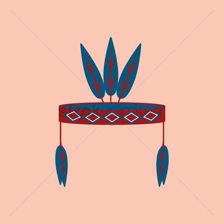 Headdress : Native american male headdress
