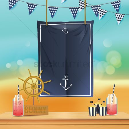 Cloth : Nautical design