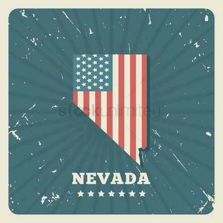 Oldfashioned : Nevada map