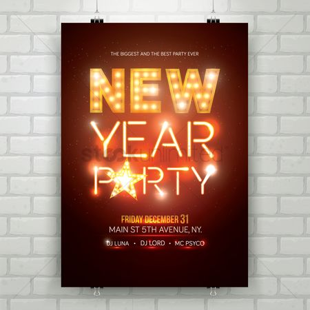 Activities : New year party