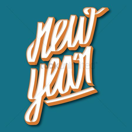 Typographics : New year