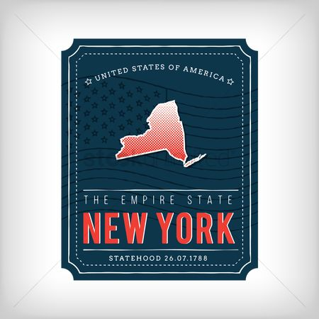 New york : New york map