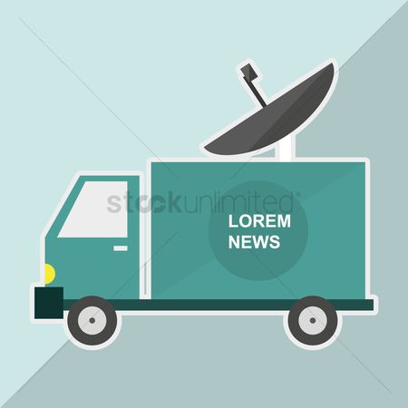 Icons news : News van