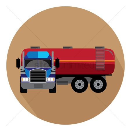 Gases : Oil truck