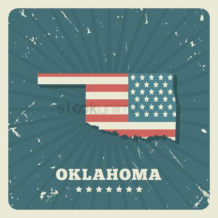 Oldfashioned : Oklahoma map