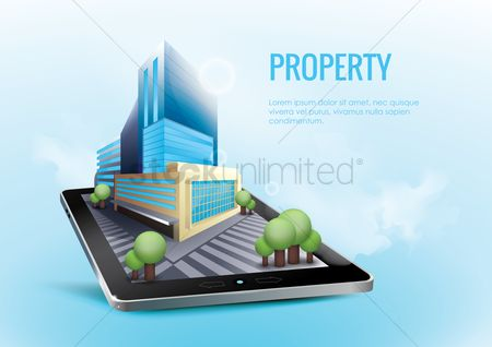 Architectures : Online real estate concept