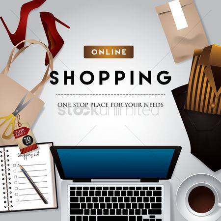 E commerces : Online shopping design