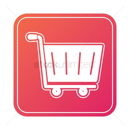 E commerces : Online shopping icon