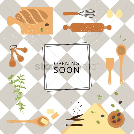 Baguettes : Opening soon design